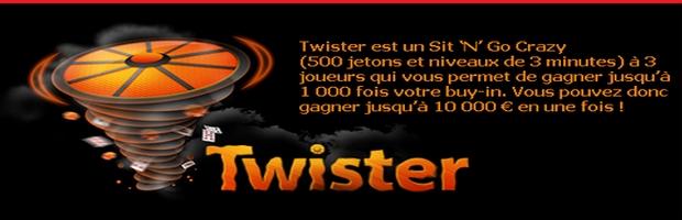 multipliez votre mise par 1000 avec les Twisters d'Unibet