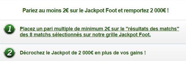 cagnotte Unibet jackpot foot
