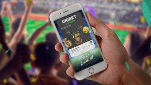 Partagez vos paris avec Unibet