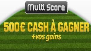 Pariez Multi Score sur Unibet Sport