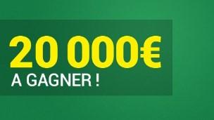 20.000€ mis en jeu sur le foot en avril par Unibet