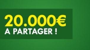 20.000€ à partager sur Unibet.fr pour le Calendrier de l'Avent
