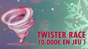 Unibet Poker met 10.000€ en jeu pour le Challenge Twister Race de février