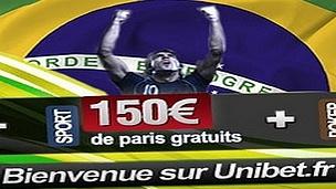 150 euros de paris gratuits avec Unibet spécial coupe du monde