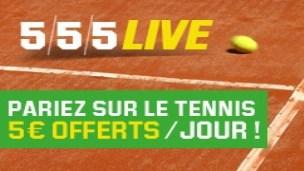 Profitez de l'offre spéciale Roland Garros sur Unibet