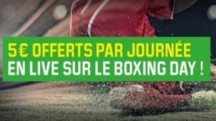Le Boxing Day avec Unibet.fr