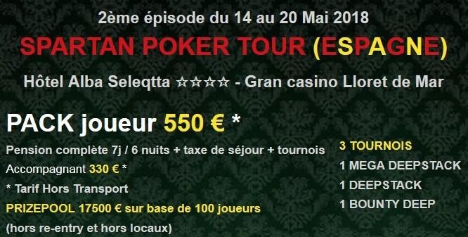 Les détails du package SPT offert par Unibet Poker