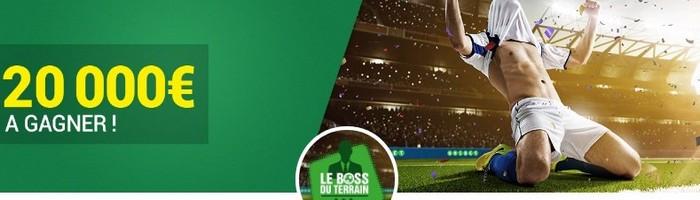 20.000€ en jeu sur Unibet pour le Challenge foot d'avril