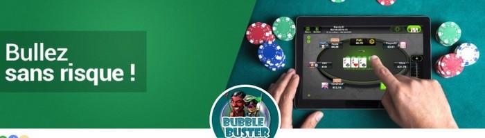 Buy-in remboursé par Unibet Poker si vous terminez à la bulle