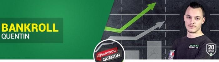 Le Challenge bankroll de Quentin Lecomte sur Unibet Poker