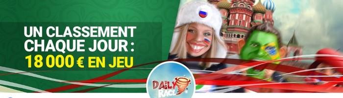 18.000€ à gagner pour les Daily Race aux tables de Twister sur Unibet Poker