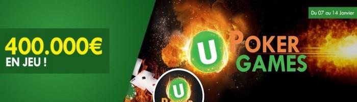 400.000€ mis en jeu pour les Unibet Poker Games
