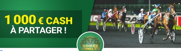 1.000€ mis en jeu chaque mardi par Unibet Turf pour les Nocturnes de Vincennes